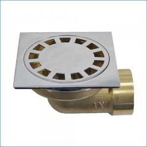 Трап Kern с обратным клапаном и гидрозатвором 10х10 горизонтальный
