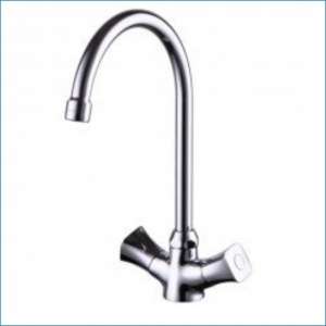 KAISER Topaz 17233 Chrome Смеситель для кухни Хром