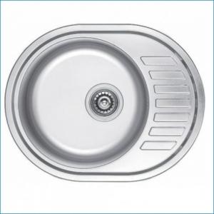 KAISER KSS-5745 Кухонная мойка металлическая врезная (нержавеющая сталь)