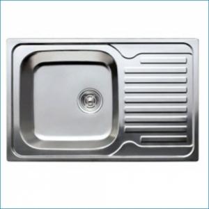 KAISER KSS-7850 Кухонная мойка металлическая врезная (нержавеющая сталь)