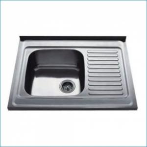 KAISER KSS-8060 Кухонная мойка металлическая врезная (нержавеющая сталь)